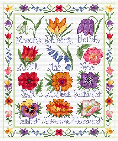 Pictures Of Flowers For Each Month The Year Hd Image