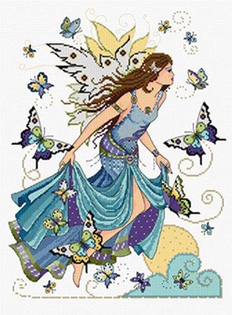 dawn fairy cross stitch