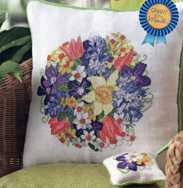 Posy cross stitch