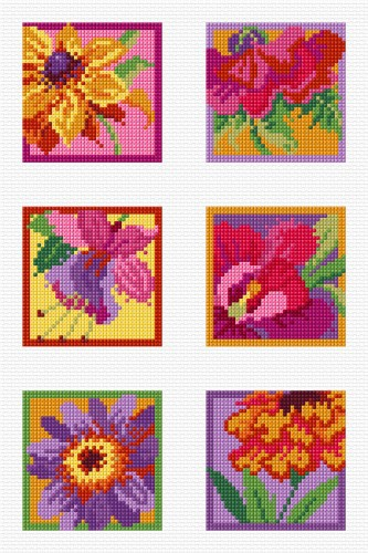 Colourful florals