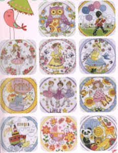 Cross Stitch designs for babies and young children