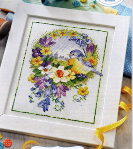 Wild birds cross stitch