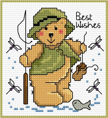 Teddy fisherman